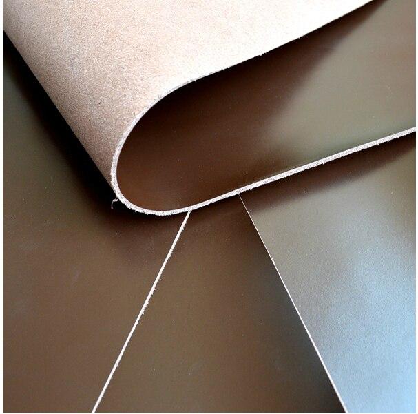 28*19 см/11*7 дюймов первый Ле Гладкая темно-коричневый кожа коровы DIY материал-11*7 дюйм(ов)