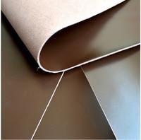 28*19 cm/11*7 cala pierwszym laye Smooth dark brown cow leather DIY materiał-11*7 cali