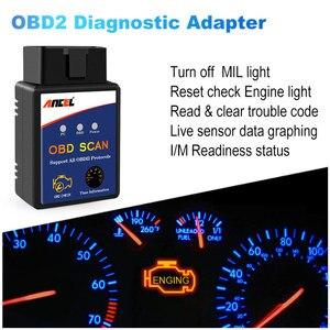 Image 2 - ELM327 Bluetooth OBD2 Scanner Automotive Scanner Auto OBD 2 Diagnose Werkzeug ELM327 Fehler Code Reader OBDII ELM327 Adapter