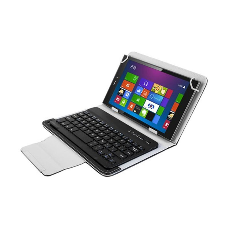 Bluetooth Wireless Keyboard Cover Case for apache A701 7 inch Tablet Spanish Russian Keyboard+Stylus Pen+OTG