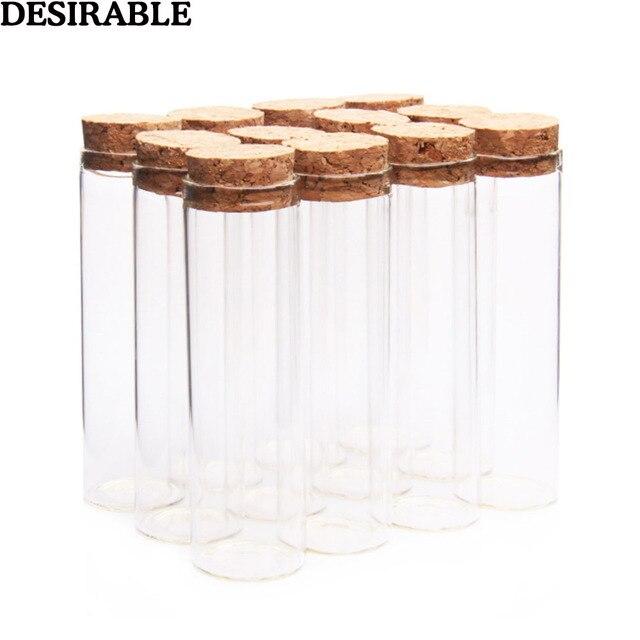 5pcs/set 50ml clear glass bottles