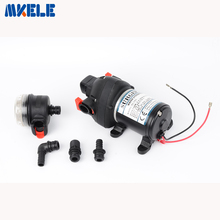 FL-706 Mini DC 24V Plastic High Pressure Boat bilge Pump Water Pump Diaphragm Pump 30m lift Submersible pumps 10pcs high pressure pumps 1500lph 10m high lift 5 12v dc submersible small water pump brushless dc motor driven for hot water