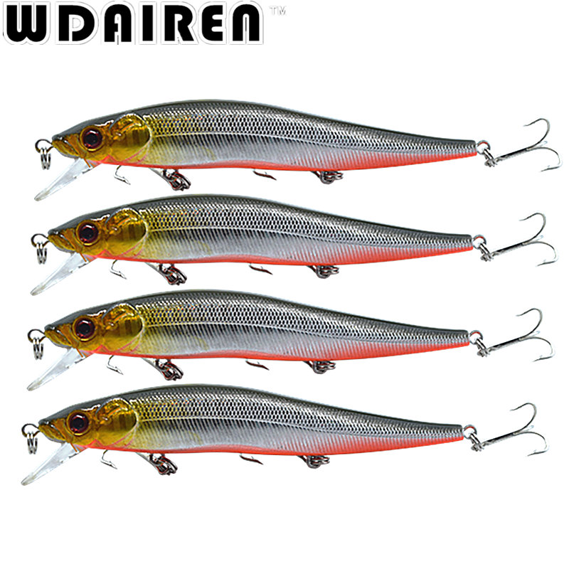 1Pcs 11.5cm 13.1g Swing Crank Fishing Lure Minnow Artificial Hard Bait Tight Wobble Slow Floating Jerkbait NE-284 прокладки клапанной крышки honda vtr1000f