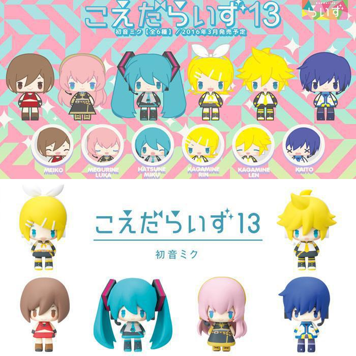 4-5CM 6pcs/lot Japanese anime <font><b>figure</b></font> <font><b>Kagamine</b></font> <font><b>Rin</b></font> <font><b>Kagamine</b></font> Ren action <font><b>figure</b></font> collectible model toys for girls image