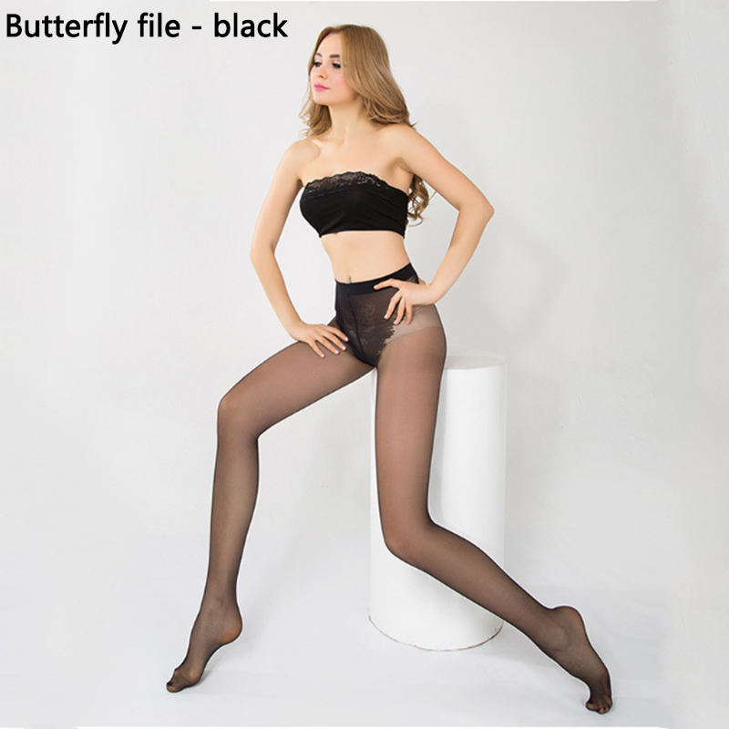 Buy Anti-hook Elastic Magical Tights Silk Stockings Breathable Slim Legs Collant Sexy Thin Pantyhose Women Base Stocking Base