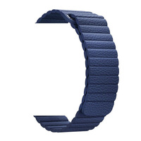 Lamavido Adjustable Magnetic Genuine Leather Loop Band For Apple Watch 1 2 3 Strap 42mm 38mm