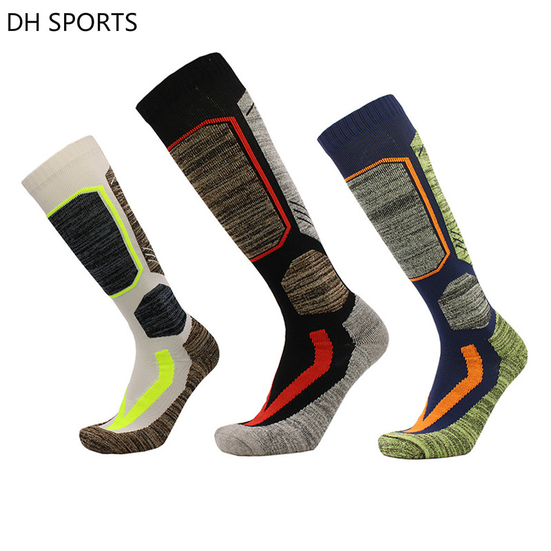 2018 Ski Socks Football Soccer Sock Cotton Men Women Cycling Snowboard Sport Socks Skiing Socks Top Quality