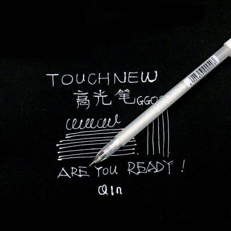 Touchnew 0 8mm Fine Point Markers Graffiti Pen On Black