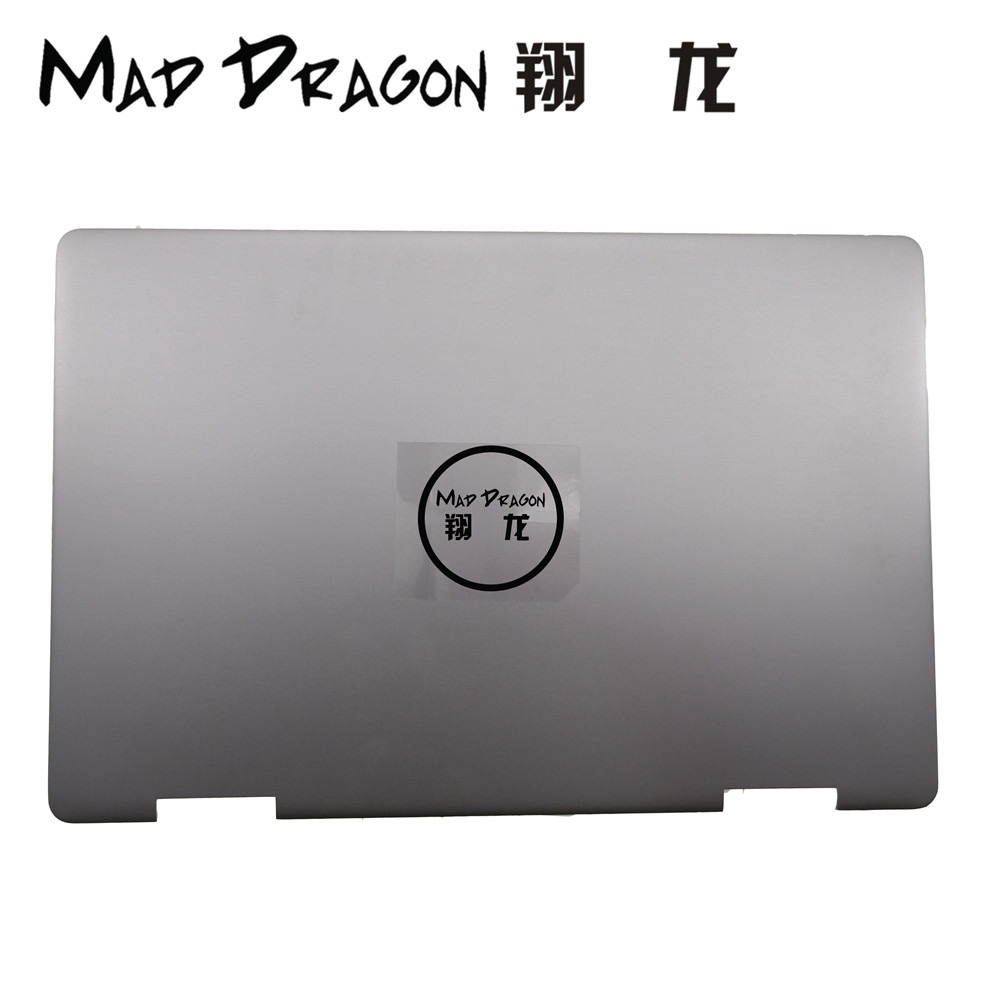 MAD DRAGON Brand Laptop NEW 2-in-1LCD Rear Cover Top Shell Screen Lid For Dell Inspiron 15 7000 7586 Silver Cover 0MCCPR MCCPR цена