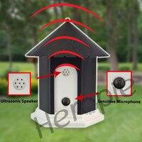 Heropie Pet Dog Ultrasonic Anti Barking Collars Repeller Outdoor Dog Stop No Bark Control Training Trainer Device Supplies