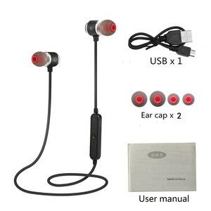Image 2 - QAIXAG Neue wireless Bluetooth headset sport magnetische Bluetooth headset in ohr für alle handys mit Bluetooth