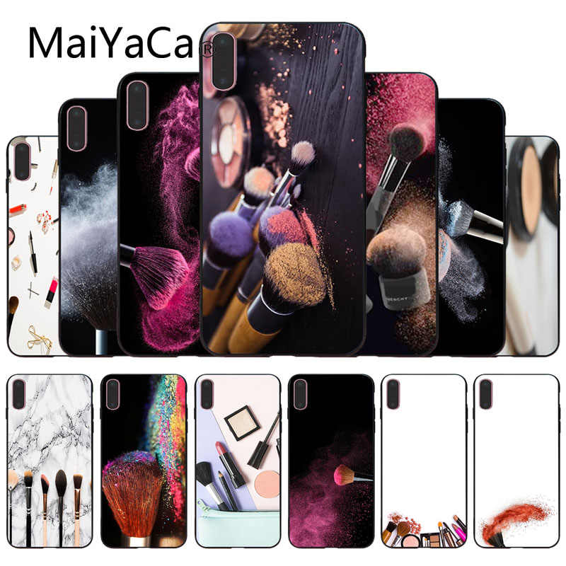 MaiYaCa Used Make Up Brush Newest Super Cute Phone Case For iphone 6 6s 6plus 6S plus 7 7plus 8 8plus 5 5s 5C Case cover