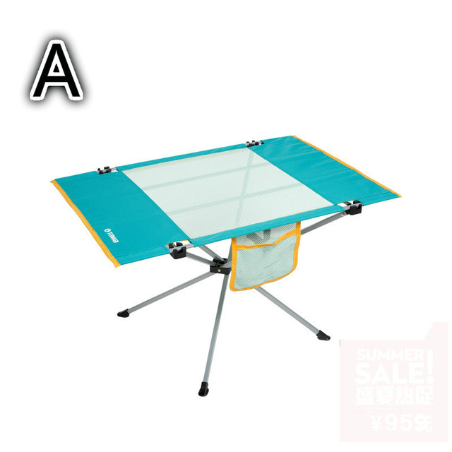 Outdoor light  portable folding table picnic camping strengthen table