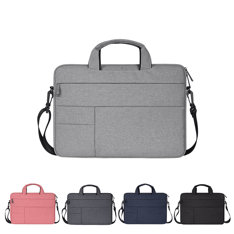 Waterproof Laptop Bag Men Women For Macbook Air Pro 13.3 14.1 15.4 15.6 Laptop Notebook Shoulder Handbag Briefcase Cases