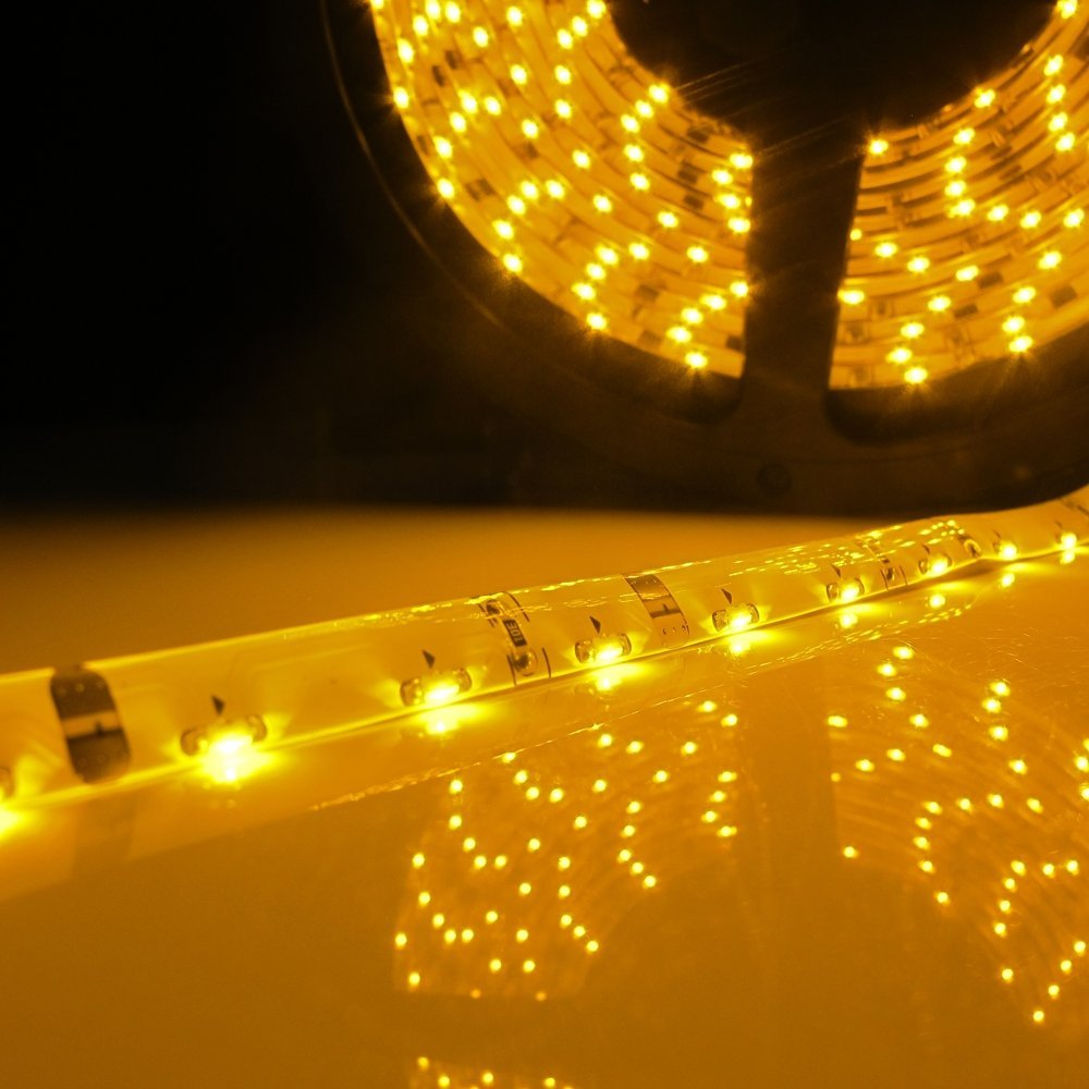 Led lumière de bande 335 smd side emitting led bande imperméable à l'eau IP65 DC 12 V 300led 5 m 3000 K 6500 K blanc chaud blanc bleu