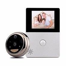"""Tivdio Видеодомофоны Wi-Fi 2.8 """"oled HD Экран Мониторы двери просмотра передней двери глазок Камера Wi-Fi Дверные звонки охранных F9507D"""