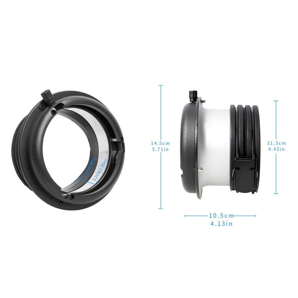 Image 3 - Speedring Adapter Profoto Head to Bowens Mount Converter For  Softbox Snoot Beauty Dish Studio Lighting Accessories Fotografiabowens  mountprofoto bowenssoftbox head