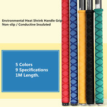 20mm Heat Shrink Tube Nonslip Fishing Rod Handle Grip 1M Insulation Tubing Sleeve for Golf Tennis Badminton Rackets 5 Colors(China)