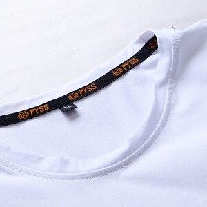 Image 4 - 캐주얼 최고 품질 블랙 화이트 레드 남자 티셔츠 패션 2020 Tshirt 티셔츠 힙합 느슨한 플러스 특대 L 6XL 7XL 8XL 9XL