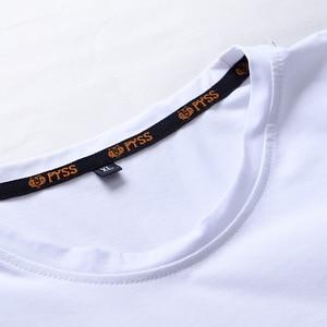 Image 4 - Camisetas informales de alta calidad para hombre, camisetas a la moda en negro, blanco y rojo, camisetas holgadas de estilo HIP HOP de gran tamaño L 6XL 7XL 8XL 9XL, 2020