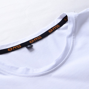 Image 4 - Casual Top Quality BLACK WHITE RED Mens T shirts Fashion 2020 Tshirt Tees HIP HOP LOOSE Plus OVERSize L 6XL 7XL 8XL 9XL