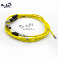 1770MM Motorcycle Gas Throttle Cable Engine 139QMB For GY6 50cc Chinese Scooter|Levers  Ropes & Cables| |  -