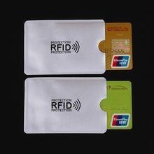 20 шт защита от сканирования карт для кредитных rfid анти магнитная
