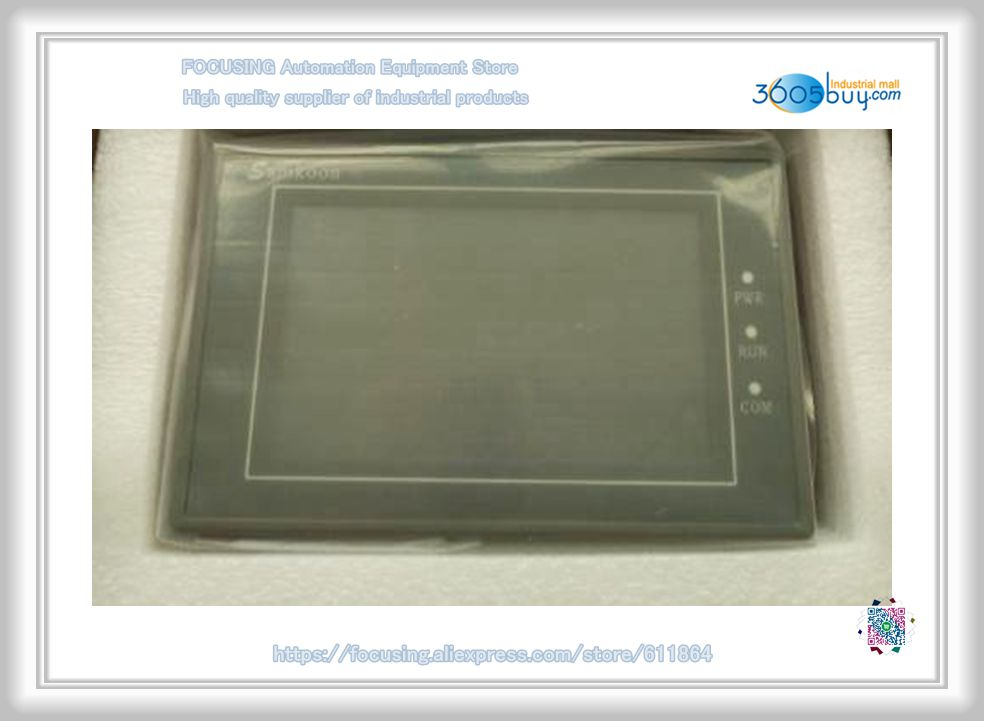 Samkoon SK-035FE HMI touch screen 3.5 inch Touch Screen Original New поводок для собак happy friends цвет синий ширина 1 4 см длина 1 20 м