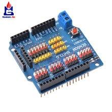 Электрический модуль датчика Щит Плата расширения для Arduino UNO R3 V5. 0 модуль защиты датчика для Arduino UNO