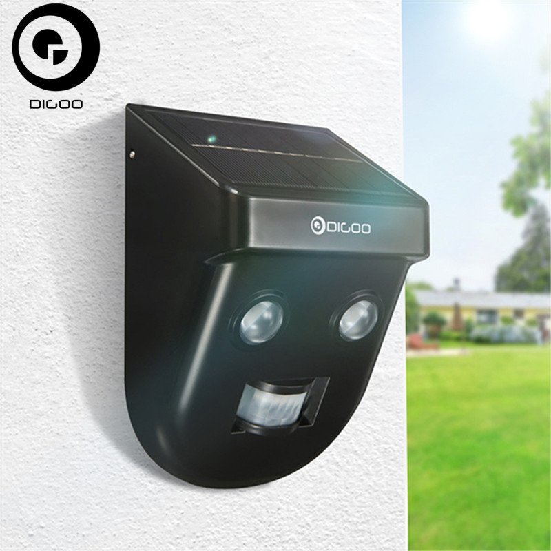 DIGOO DG-SSR-1 Gardening Solar Wireless PIR Sensor Long-Distance Waterproof Outdoor Wall Light Home Safety Security dg home стул james