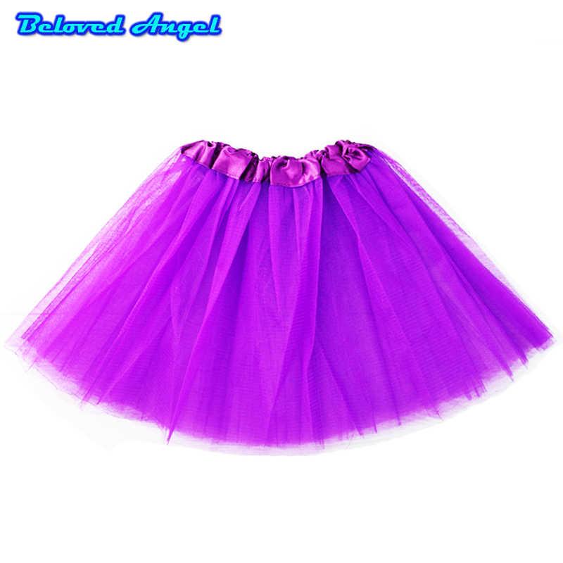 2019 kinder mädchen Prinzessin Tutu Röcke Dance Ballerina Pettiskirt Kleinkind Flauschigen Ballett Rock Für Mädchen Party Tüll Minirock 0- 8 t