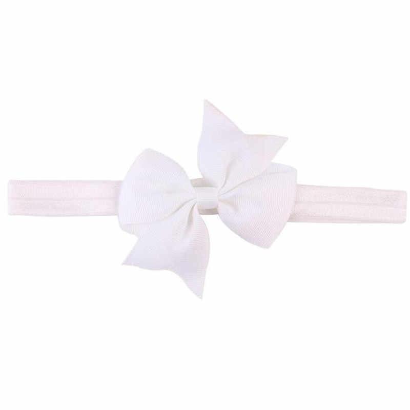 2019 Multicolor Bowknot MINI Headbands Girls Hairbands ดอกไม้น่ารัก Headbands ผมอุปกรณ์เสริม MINI Bowknot Hairba