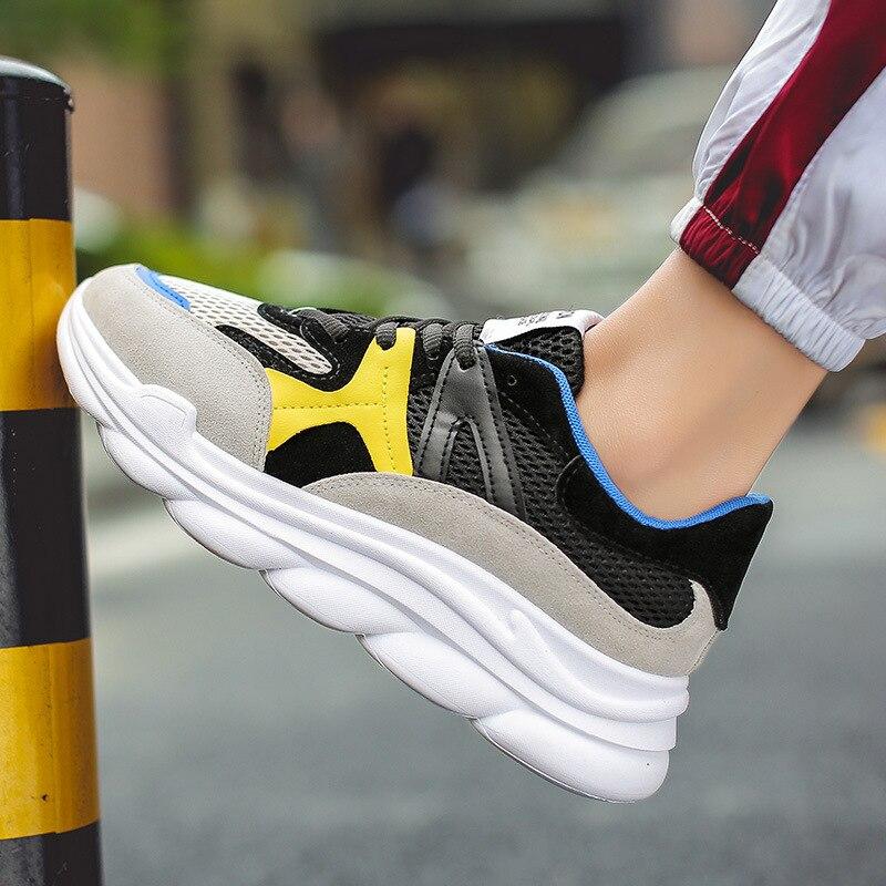 Shoes Sports Nx034 Respirável Lazer Homens Novos De Ondas Malha Turísticas nx034 Sapatos Atacado Primavera Maré Dos 2019 RCw8B4q4
