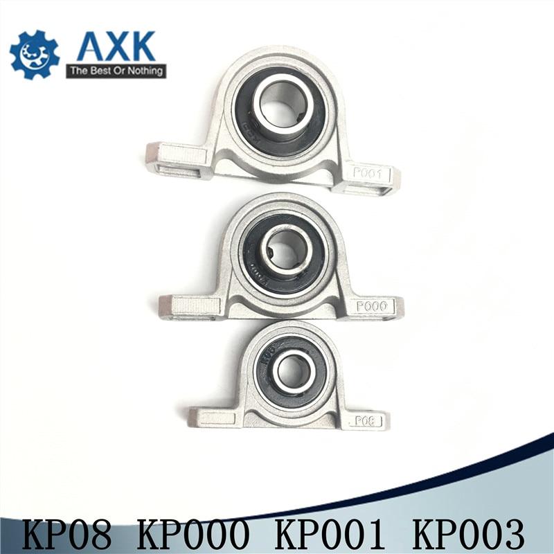 8//10//12//17mm Bore diameter mounted bearings ball bearing pillow block KP`d
