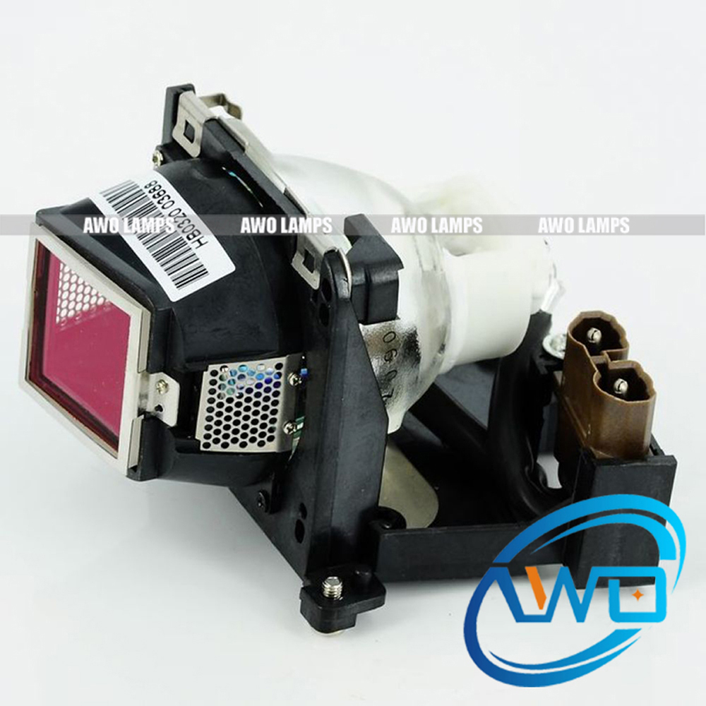Compatible Projector Lamp VLT-XD205LP Replacement with housing for  MITSUBISHI SD205/XD205 Projector awo sp lamp 016 replacement projector lamp compatible module for infocus lp850 lp860 ask c450 c460 proxima dp8500x