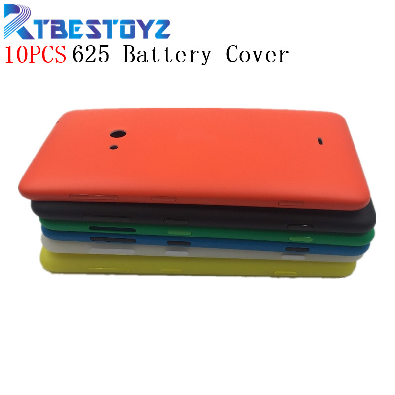 RTBESTOYZ 10PCS/lot Plastic Candy Color Replace Phone Housing For Nokia 625 Battery Case