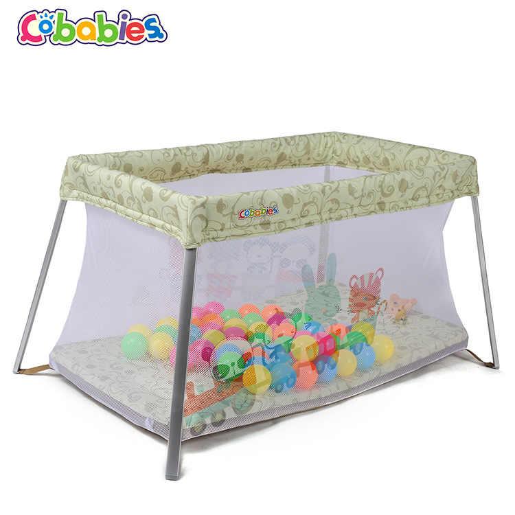 Многофункциональная кроватка складной Ультра светильник детская игровая кровать с москитной сеткой детская кровать