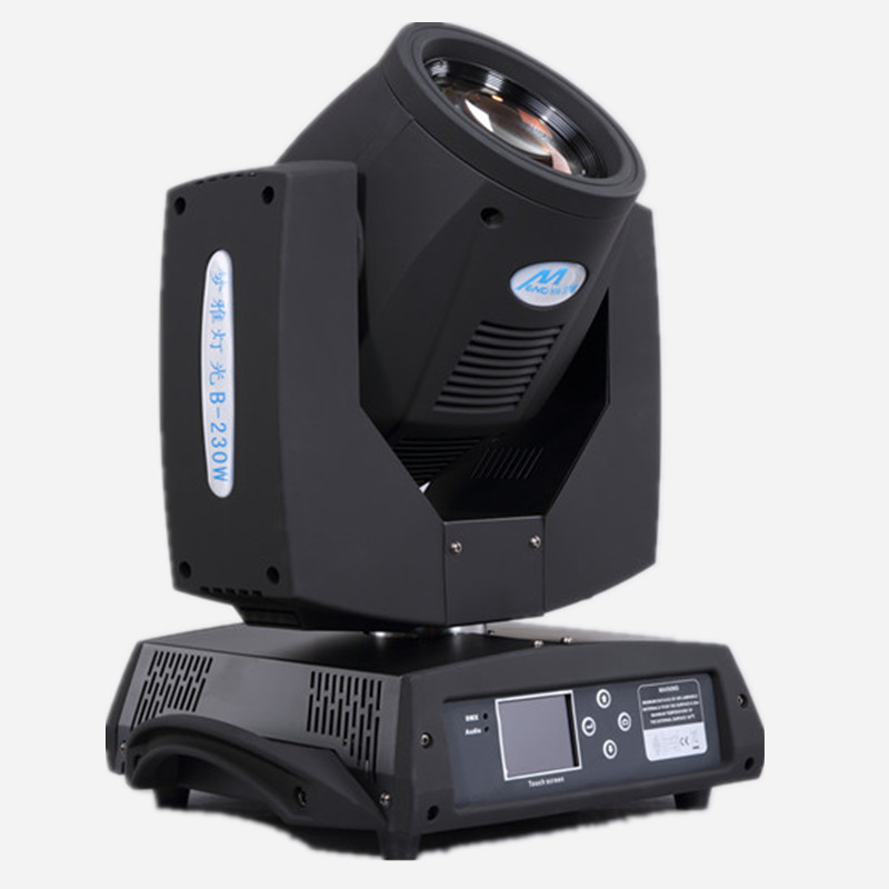 High quality 230W sharpy moving head beam dmx stage lighting 7r move head disco light wedding show dj equipment touch screen LCD