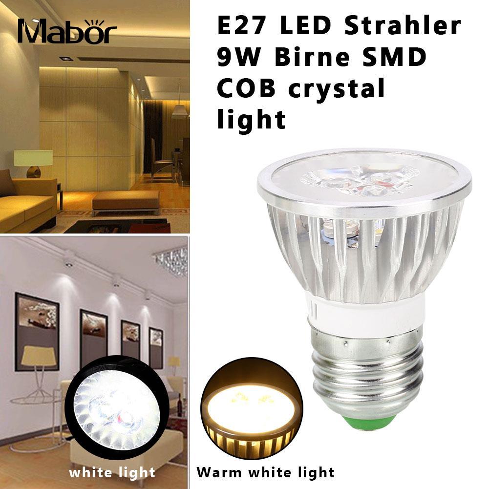 Spotlight Bulb Indoor Outdoor LED Bulb Energy Saving 6*4.6*4.6cm Long Life Lighting Fixture Room Lighting