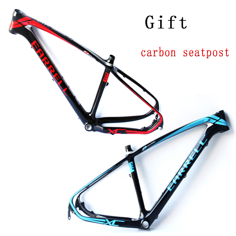 2017 EARRELL XC carbon mountain bikes 29 frame MTB bicycles frame carbon road frame 26/27.5/29ER стоимость