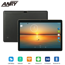 ANRY 102 Tablet Pc 10.1 Inch Android 7.0 Tablet Pc IPS Screen Quad Core 4GB RAM 32GB ROM Mini Pad Support Extend TF card 3G Tab colorfly i977a 3g 9 7 ips quad core android 4 4 tablet pc w 2gb ram 64gb rom white blue