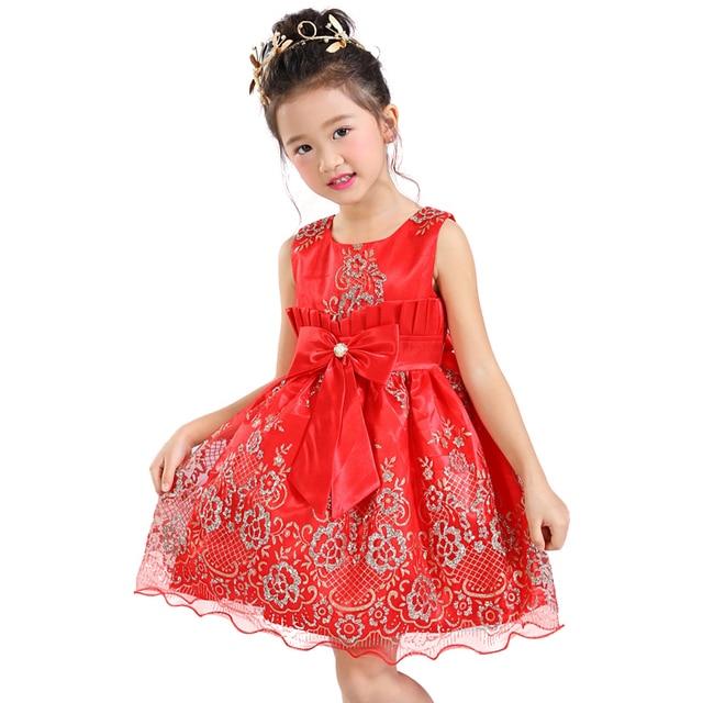 4c0020c90c247 Fille Papillon Mignon Parti Robe 1 2 3 4 5 6 ans sans manches Enfants en