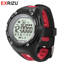 EXRIZU Smart Watch Xwatch 3ATM Waterproof Dustproof Pedometer Bracelet Outdoor Sport Smartwatch for Camping Hiking Swimming