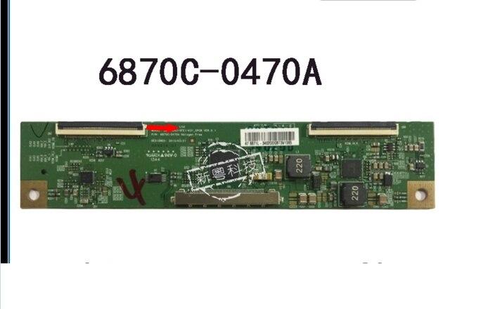 6870C-0470A t-con logic board forLD470DUJ-SFE1-K31_CPCB connect with T-CON connect board seiki se50uy04 v500dk1 cs1 mv 0sp4v 0 t con board