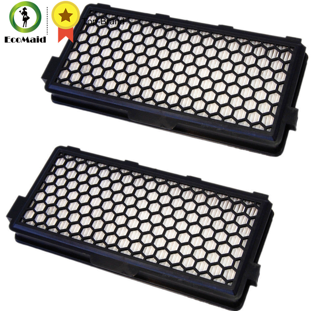 HEPA Air Clean Filter For Miele Vacuum Cleaner S4000/S5000/S6000/S8000 Series Vacuum Cleaner Replacement Cleaning Accessory 2pcs hepa filter for miele vacuum cleaner replacement filter for miele s4210 s4580 s4581 s4780 series vacuum spare part