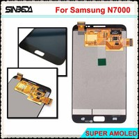 Sinbeda Super AMOLED HD LCD For Samsung Galaxy Note N7000 I9220 LCD Screen Display Touch Screen