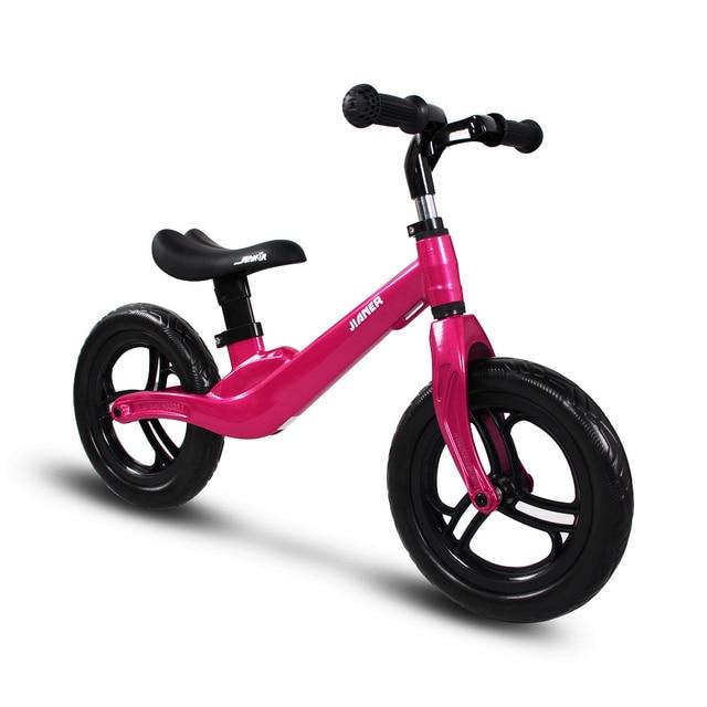 Детский балансировочный велосипед Скутер для детей 2-5 лет скутер без педалей Вождение велосипед подарок для младенца Магниевый сплав 2,2 кг