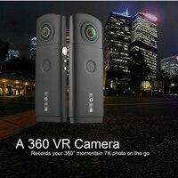 (1 шт.) двойной 4 K объектив 360 градусов панорамная камера Поддержка Wi Fi приложение 7 k фото и 3 k видео рекордер широкий срок службы мини DVR портат