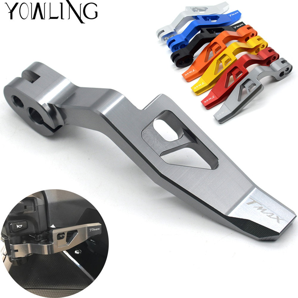For Yamaha T-MAX TMAX 500 2008-2011 TMAX 530 2012 2013 2014 2015 2016 XP530 Motorcycle Aluminum Parking Hand Brake Lever