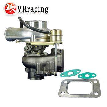 VR Racing-WGT35 GT30 Turbine A/R. 63 Com A/R. 70 T3 Flange V-band-79mm Turbo Turbocharger Internal Wastegate VR-TURBO51